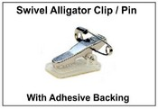 Name Badge Swivel Alligator Clip