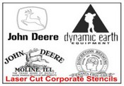 Corporate Stencil Logo's