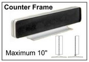 JRS Architectural Aluminum Counter Frames