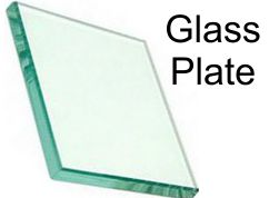 """Glass Plate For Epoxy Paste Ink - 4""""x7"""""""