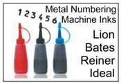 Lion Numbering Machine Ink Bates Numbering Machine Ink
