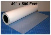 Mylar 49 inch x 500 feet roll stock