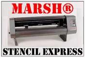 MARSH® Stencil Express Electronic Stencil Cutter