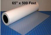 Mylar 65 inch x 500 feet roll stock