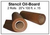 """Stencil Board Roll - 20"""" x 100' - 2 Rolls per Pak"""