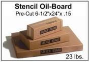 "Stencil Board - 6-1/2"" x 24"" - 23 lb pak, 230 Sheets"