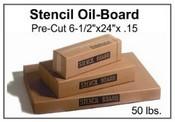 "Stencil Board - 6-1/2"" x 24"" - 50 lb pak, 520 Sheets"
