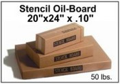 "20"" x 24 x .010 Point Oil Board"