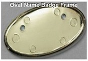 Oval Frame for Name Badges