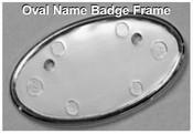 Oval Frame for Name Badges