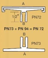 PN-72-12 Architectural Corridor Sign Frame