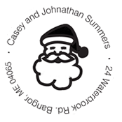 Custom Santa Claus Address Embosser