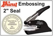 "Embossing Desk Seal 2"" Dia."