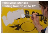 Spray Mask Paint Stencils