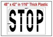 STOP Federal Spec Stencil