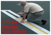 Stop Bar Stencil