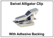 Name Badge Swivel Alligator Clip