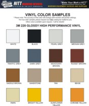 Vinyl Colors