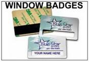 Window Badges Window Name Badges