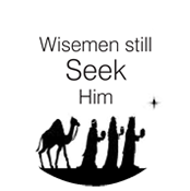 Custom Christmas Wisemen Still Seek Him Embosser