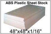 "48""x48"" 60 MIL ABS Blank Stencil Sheet"