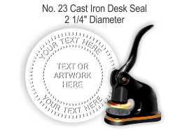 123 Cast Iron Embosser