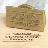 Removable Logo Plate Hand Held Branding Iron